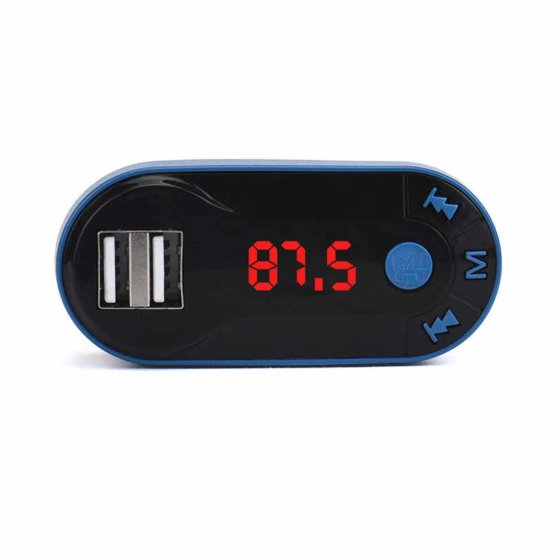Usb Music Player MP3 Player Nirkabel Bluetooth FM Transmitter MP3 Player Handsfree Mobil Kit USB TF SD Remote Dropshipping