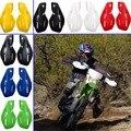 8 Cores de Moto Motocross Handguards Motocicleta Protetores de Mão Guardas Universal Acessórios de Plástico 22mm 7/8 ''ATV Da Bicicleta Da Sujeira