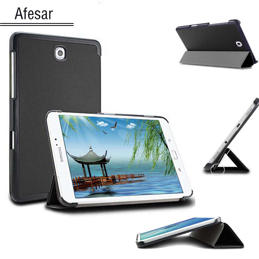 SM-T710 T715 T713 T719 Tab S2 8.0 case cover, Ultra Slim case voor Samsung galaxy Tab S2 8.0 smart cover magneet auto slaap Case