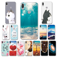 For ASUS Zenfone Max Pro M1 ZB 602KL Newest Case Scape Various Phone Shell MaxPro M1 ZB602 KL Back Cover Fundas Capa ZB602KL цена 2017