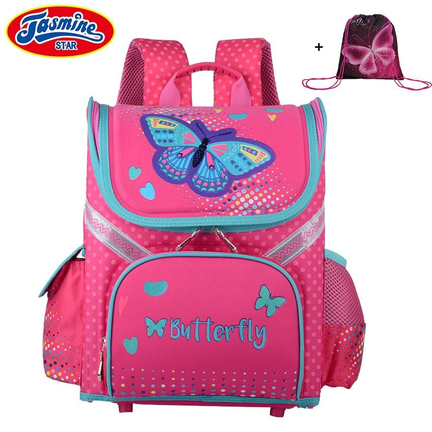 JASMINESTAR dzieci plecak torba szkolna nowa klasa 1 3 5
