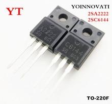 100 개/몫 2SA2222 2SC6144 50pcs A2222 + 50pcs C6144 IC 최고의 품질.