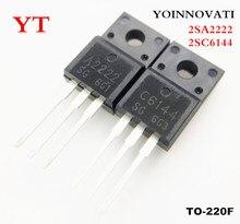 Lote de 100 Uds. 2SA2222 2SC6144, 50 Uds., + 50 A2222 Uds., IC de la mejor calidad C6144