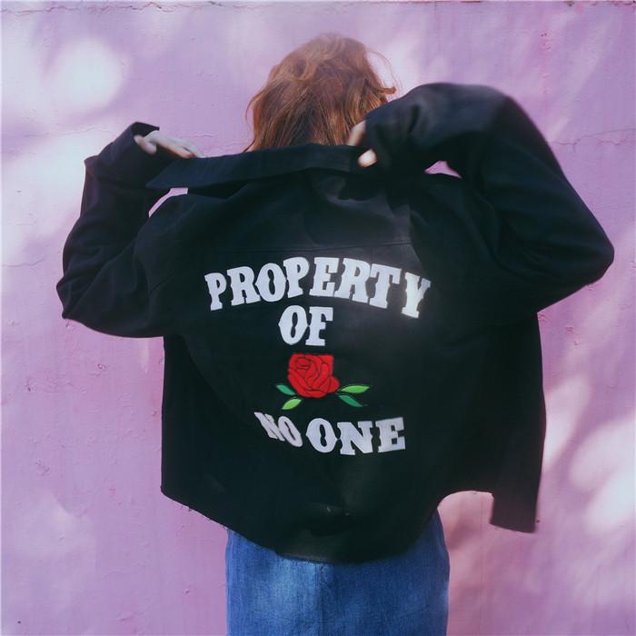 HTB1lI9ZNFXXXXcjXpXXq6xXFXXXa - property of rose no one embroidery jacket High Heels Suicide rose jukpop 001
