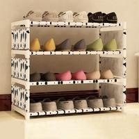 1Set Storage Shoe Cabinet Easy to install Multi Layer Shoes Racks DIY Shoe Shelf Non-woven Fabric Racks Nonwovens Shelf Storage