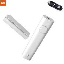 Xiaomi Bluetooth 4,2 Wireless Receiver Adapter 3,5mm Jack AUX Audio Musik 4 5Hours Batterie Lebensdauer für Lautsprecher Kopfhörer Auto AUX