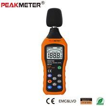 Promo offer Official PEAKMETER MS6708 LCD Digital Audio Decibel Sound Noise Level Meter dB Meter Measuring  Logger Tester 30 dB to 130 dB