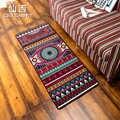 CIGI Vintage alfombra de suelo largo antideslizante dormitorio alfombra escritorio Mesa Felpudo de bienvenida cocina baño alfombra de Nylon alfombras de colores