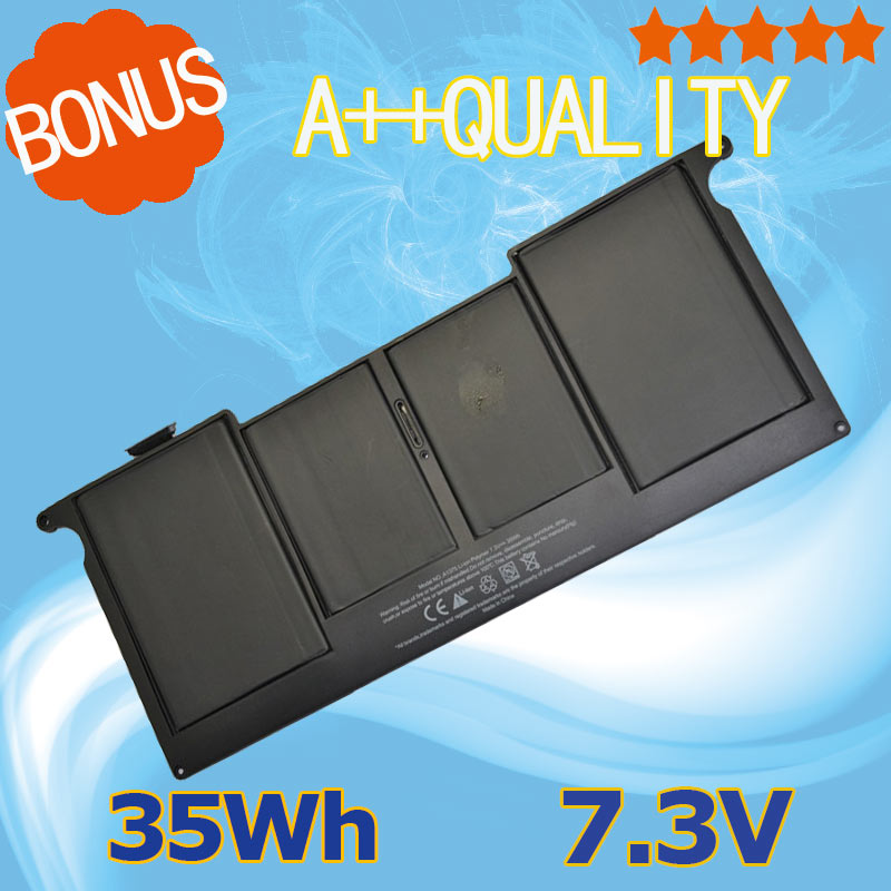 7.3V 35Wh Laptop Battery A1375 For Apple MacBook Air 11 A1370 (2010 Production) ping