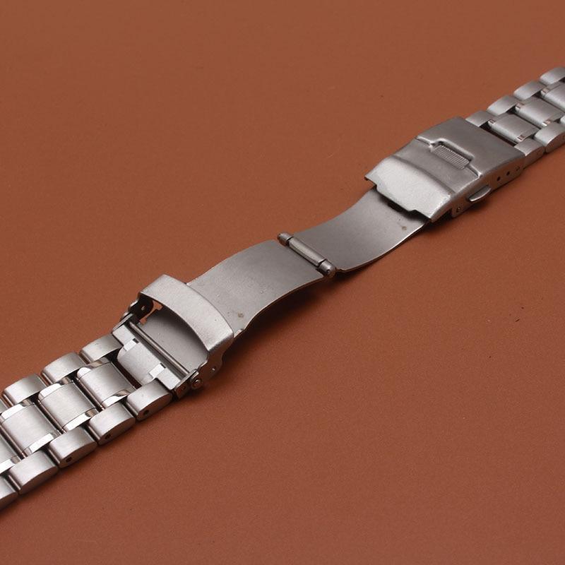 18mm 20mm 22mm 24mm szilárd rozsdamentes acél összekötő - Óra kiegészítők - Fénykép 6