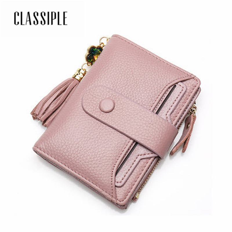 Fashion Short Women Wallet Female Genuine Leather Lady Mini Card Holder Wallet Girls Credit Card Coin Purse Lady Cute Wallets wallet women small cow leather mini short wallets id card holder wallet coin purses real leather wallets for lady clutch female