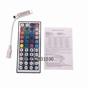Image 5 - 1 cái DC12V 24key/44 key RGB IR Điều Khiển Từ Xa; 3A/5A Điện cung cấp Adapter Đối Với LED Strip ánh sáng Phụ Kiện SMD 5050 3528