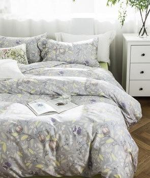 pastoral granada bedding set adult girl,full queen king cotton elegance double home textile bed sheet pillow case duvet cover