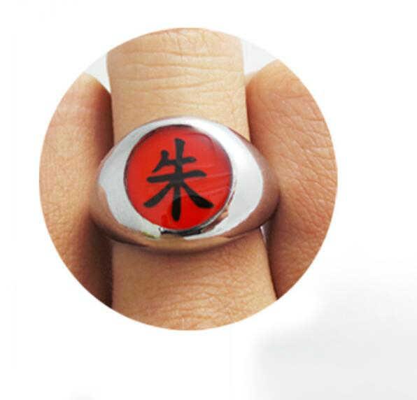 10 стилей Аниме HOKAGE Наруто Акацуки косплей кольца Сасори Итачи Hidan Deidara Pein металлические аксессуары опора для мужчин и женщин