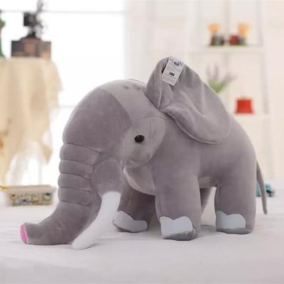 Mooie grijs elephaut knuffel zachte knuffel speelgoed elaphant speelgoed kussen 70 cm, kerstcadeau x222