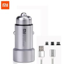 Original Xiaomi Car Charger Dual USB Fast Charging Universal