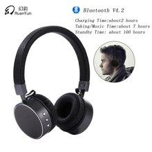 HuanYun V4.2 HIFI Sem Fio Bluetooth Fones De Ouvido com Microfone/micro Stereo Noise Cancelling Baixo Esporte Portátil BT009