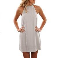 New Summer Brief Good Quality Mini Dress Ladies Slim Plus Size Black White Empire Women Gowns