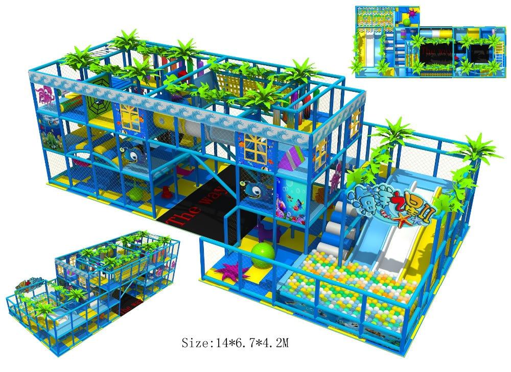 Children Indoor Playground Ce Certificated Plaza De Juegos