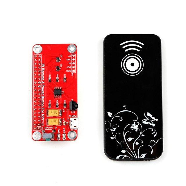 IR Fernbedienung Schalter Netzschalter Modul für RPi Raspberry Pi 3 ...