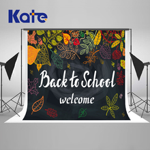 Kate Back To School Season Memory Photography Backgrounds Photo Backdrop Blackboard Graffiti