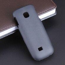 Black Gel TPU Slim Soft Anti Skiding Case Back Cover for Nokia C2-01 C2 C201 270