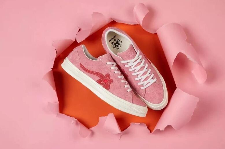 CONVERSE ALL STAR di Bue Golf Le Fleur delle donne Degli Uomini di scarpe da tennis classiche basso Scarpe da pattini e skate