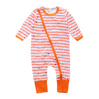 Instagram Fashion Bayy Pajama Outwear Rompers For Newborn Baby Girls Long Sleeve Footed Overall Body Suit