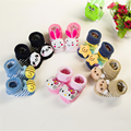 Baby Socks Animal Foot Socks Rattles Toys New Year Meias 1 Pair 0-9 Months Anti-Slip Winter Cotton Baby Socks For Newborn 95Z302