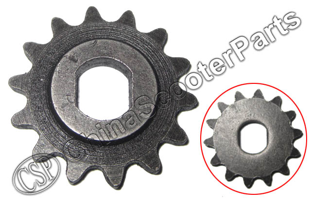 Atv Parts & Accessories Enthusiastic 14 Tooth 14t 25h Oval 10mm Razor Evo X-treme Izip Gear Sprocket 500w 800w 1000w Electric Scooter Waterproof Shock-Resistant And Antimagnetic