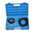 14 unidades de Presión de Aceite Del Motor Probador Manómetro De Prueba Prueba De Diagnóstico Tool Set Kit
