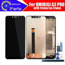 5.7 pollici UMIDIGI A3 PRO Display LCD + Touch Screen Digitizer Assembly Originale di 100% Nuovo LCD + Touch Digitizer per a3 PRO + Strumenti