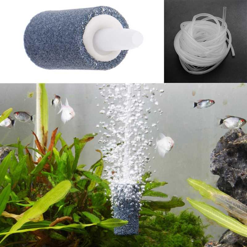 الهواء فقاعة حجر خزان حوض أسماك مهوية مضخة الزراعة المائية الأكسجين الناشر الساخن