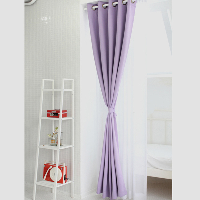 Aliexpress.com : Buy Korean Physical Blackout Curtains For Window Modern  Light Purple Curtains For Living Room/ Bedroom/ Kitchen Single Panels From  Reliable ... Part 44