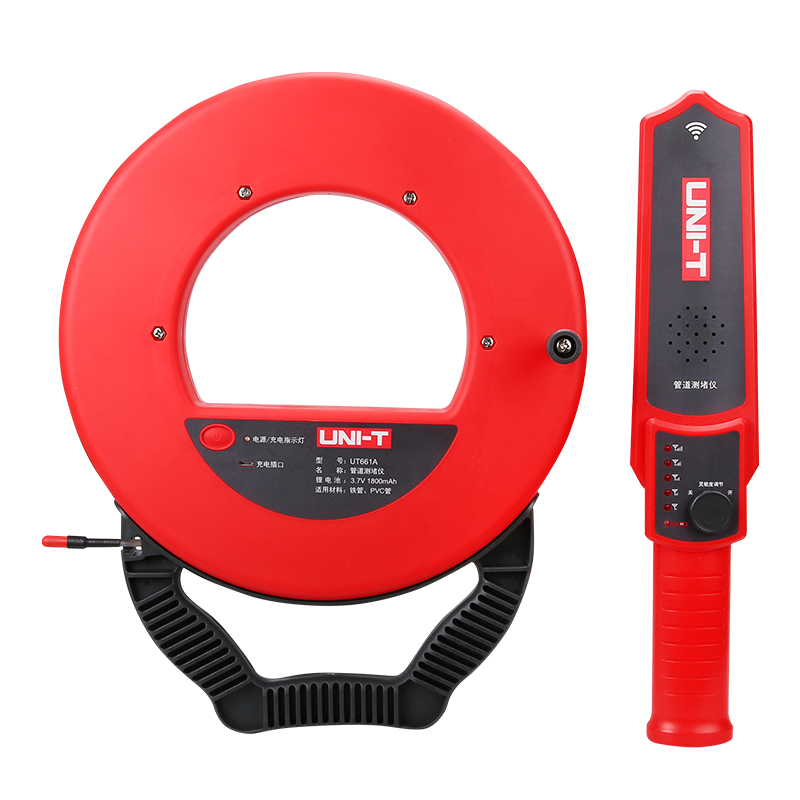 UNI-T UT661B Wall Pipe Blockage Detector Diagnostic-tool with 30m Line quiksilver men s blockage t shirt