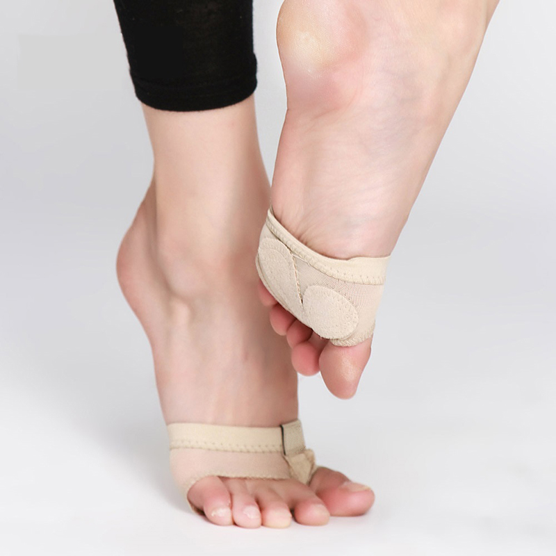 Professional Belly/Ballet Dance Foot Thong Toe Pad Practice Shoes Metatarsal Forefoot Half Lyrical Foot Protection FM0879