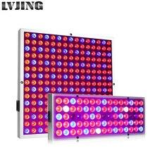 Lámparas LED para crecimiento de plantas, 25W, 45W, Panel LED de espectro completo con copa reflectora para planta de interior, flores, Fitolampy