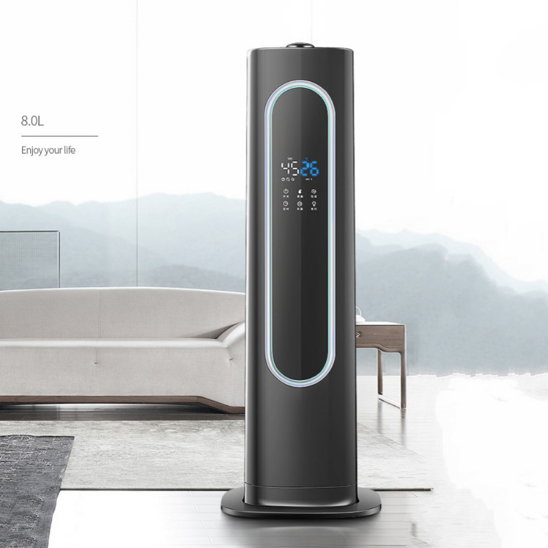 Floor-standing humidifier Household air humidifier Mute Ultrasonic bedroom office Aromatherapy High capacity air purifierFloor-standing humidifier Household air humidifier Mute Ultrasonic bedroom office Aromatherapy High capacity air purifier