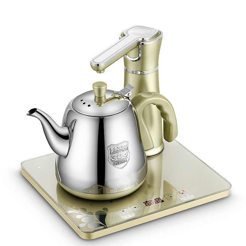 Electric kettle 4-6 minutes Automatic upper water electric 304 stainless steel boiling tea ware Anti-dry Protection