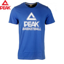 PEAK Basketball Jersey T Shirt Breathable Quick Dry Running Tee Basketball Unifrom Basketball Men's Sportswear Tops цена