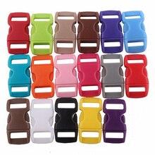 YoouPara пластик 50/лот 10 мм 3/8 Контурные боковые пряжки застежки для Паракорда браслет рюкзаки одежда мешок Декор