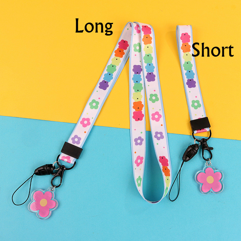 Solid Color Cute Lanyard Neck Strap for Keys Id Card Mobile Phone Straps for USB Badge Holder DIY Hang Rope,Wt-2