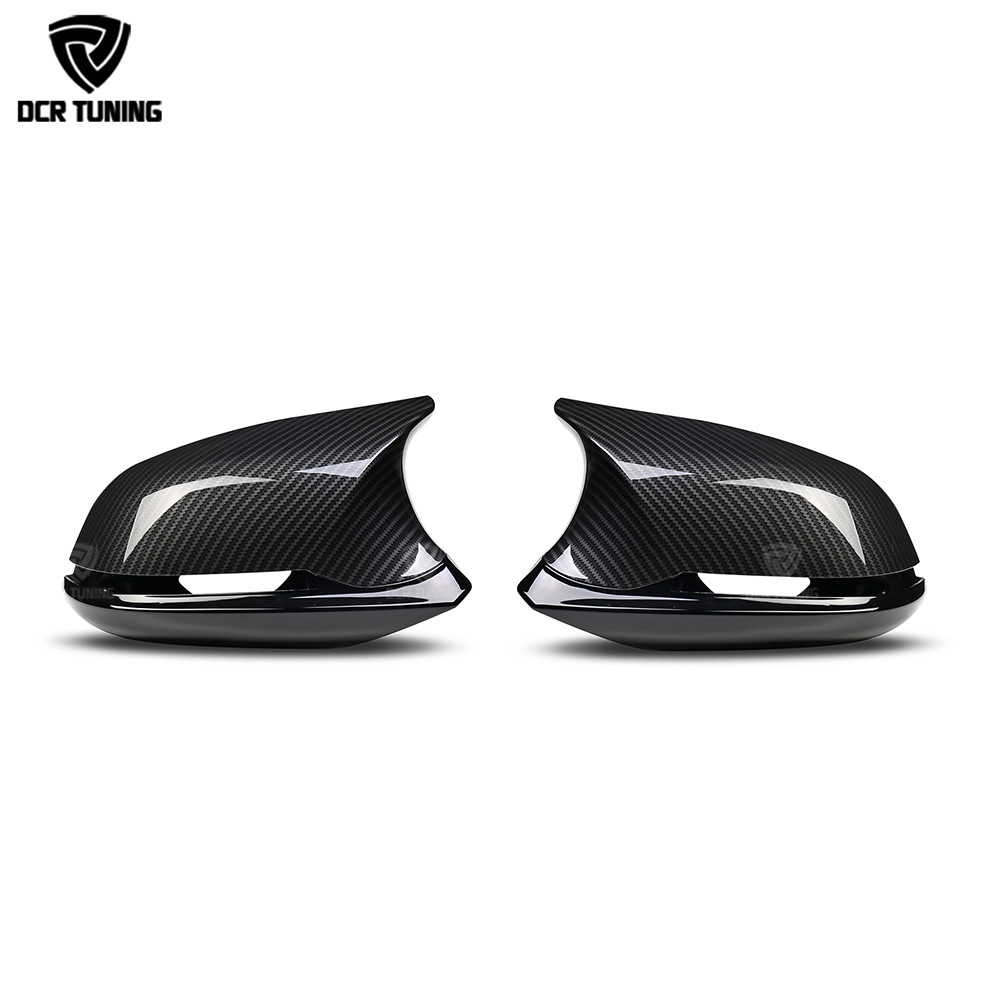 M3 M4 Look mirror cover For BMW 1 2 3 4 X Series F20 F21 F22 F23 F30 F31 F32 F33 F36 X1 E84 carbon look side caps 6 piece/set