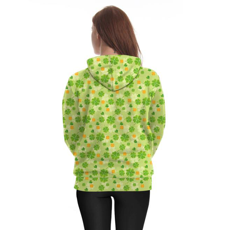 Original Cool 3d Hoodies Men/women Shamrock Clover Dinosaur Head Jackets 3d Print Hip Hop Streetwears Sweatshirts Spring Tracksuits Modis Men's Clothing
