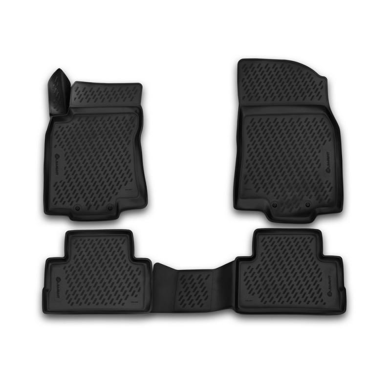 Carpet mats interior For SUZUKI SX-4, 2013-> 4 PCs (polyurethane) redpower 21153 suzuki sx 4
