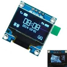 0.96 «дюйма синий OLED Дисплей модуль IIC Серийный 128×64 I2C ssd1306 12864 ЖК-дисплей Экран доска земля VCC SCL SDA для Arduino