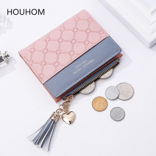 Monedero de cuero a la moda para mujer, bolso tipo billetera, regalos de boda para invitados, regalos de dama de honor, regalos de fiesta, suministros de regalo