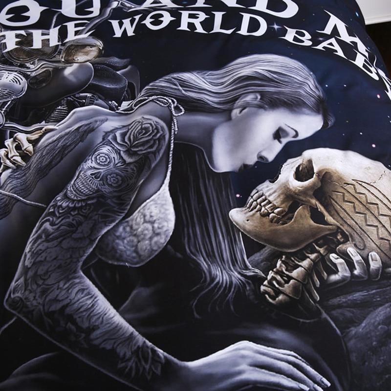 skull bedding sets _