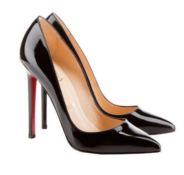Woman High Heels Ladies Shoes Brand Shoes11CM Heels Pumps Women Shoes High Heels Sexy Black Beige Wedding Shoes Stiletto