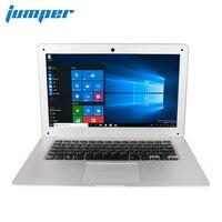Джемпер ezbook 2 A14 14.1 дюймов ноутбук Windows 10 Ultrabook 1080 P FHD ноутбук ultra slim Intel вишня Taril z8350 Wi Fi